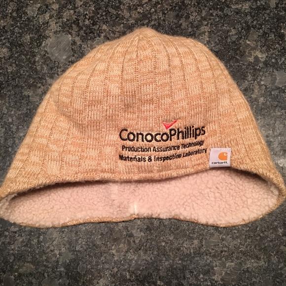 Carhartt Knit winter hat with faux sheepskin inner